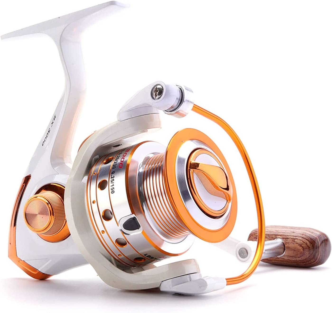 Spinning Fishing Year-end annual account Opening large release sale Reel 12BB + 1 Series Balls 500-9000 Met Bearing