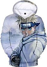 Silver Basic Jungen Neuheit Hoodies Naruto Sweatshirt 3D-Dru