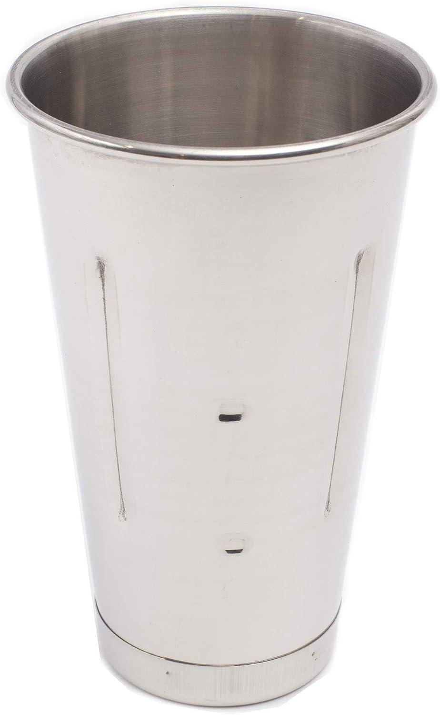 eHomeA2Z Malt Cup Stainless Steel Ice Cream Milkshake Commercial Grade 30 oz 6