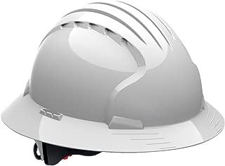 JSP 280-EV6161-10 Class E Full Brim Lineman's Hard Non-Vented Hat