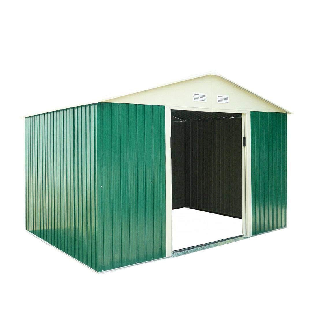 Catral CASETA Metalica Space Green High Door, Verde: Amazon.es: Jardín
