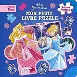 DISNEY PRINCESSES - Mon Petit Livre Puzzle - 5 puzzles 9 pièces - Bal...