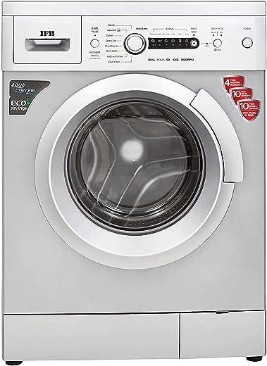 IFB 6 kg 5 Star Fully-Automatic Front Loading Washing Machine (Diva Aqua SX, Silver, Inbuilt Heater, Aqua Energie water softener) 1