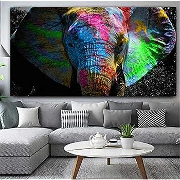 Panorama Poster Pareja Elefantes 30x21cm - Impreso en Papel 250gr - Poster de Animales - Cuadros Decorativos de Animales - Cuadros Salón Modernos - Cuadros Dormitorio: Amazon.es: Hogar