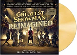 Greatest Showman: Reimagined Exclusive Limited Edition Gold Vinyl LP