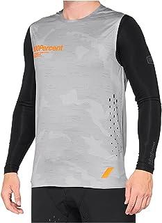 100% MTB-Jersey mouwloos R-Core Concept Camo Grey