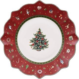 Villeroy & Boch Toy's Delight Assiette petit-déjeuner rouge, 24 cm, Porcelaine Premium