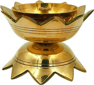 Shubhkart Lotus Oil Lamp Big
