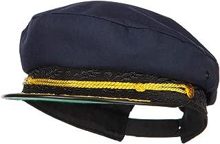 e4Hats.com Adjustable Cotton Captain Hat