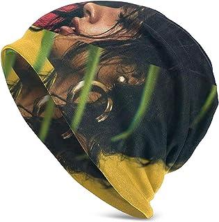 LinUpdate-Store Camila Cabello Hedging Hat Unisex Skull Hat Knitt Hat Beanie Cap para otoño/Invierno Cap-H75D-C0J