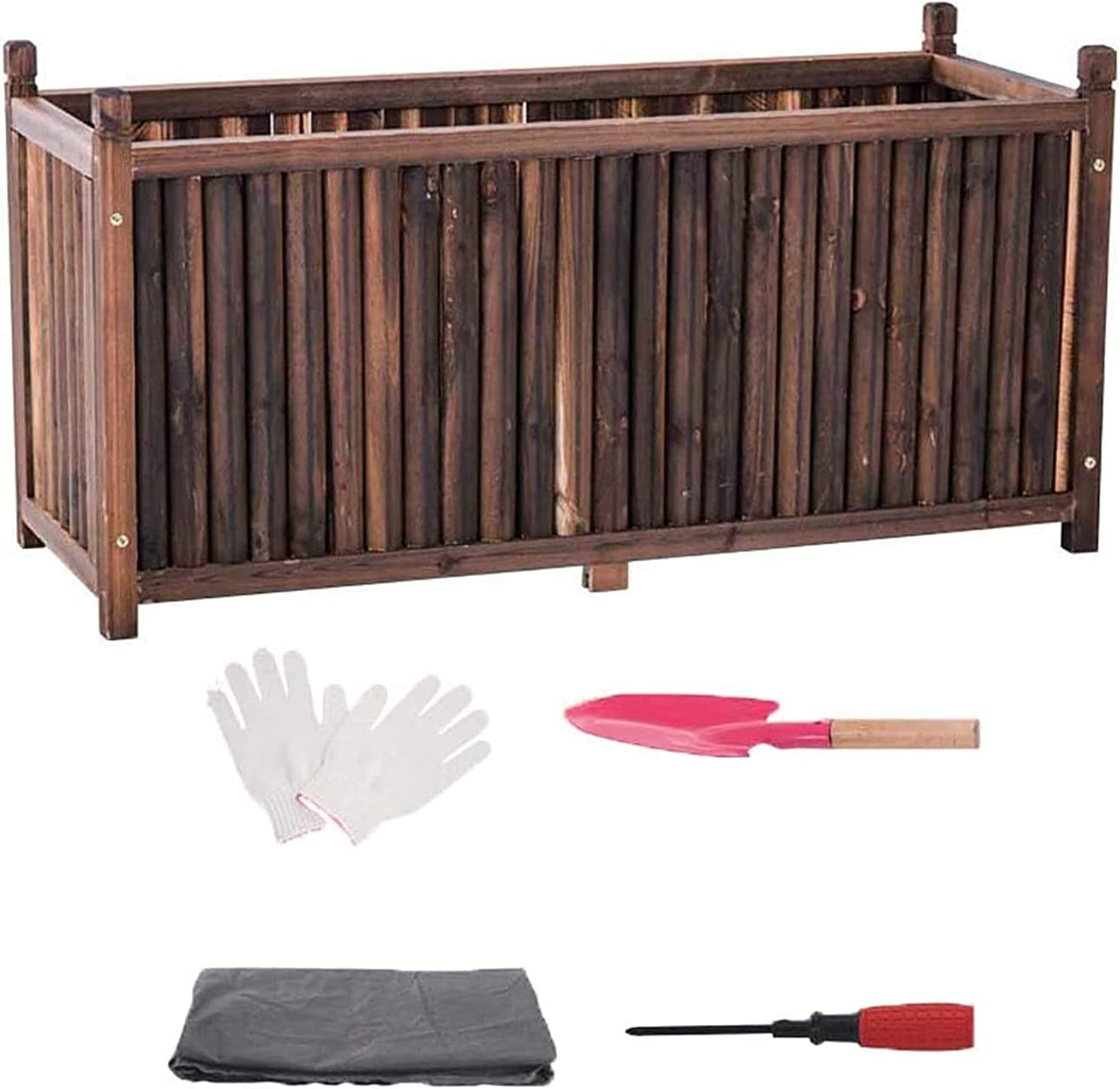 Garden Bed Super-cheap Planter Box Wooden Slot Selling Deep Ant Container Flower