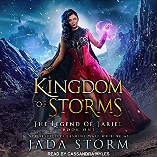Kingdom of Storms audiobook cover art