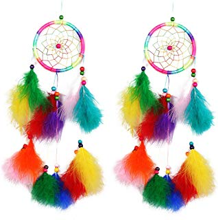 Gabrine Colorful Dream Catcher Wall Hanging Ornament Decoration