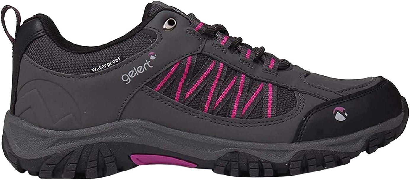 Gelert Womens Horizon Low Waterproof Walking Shoes Hiking