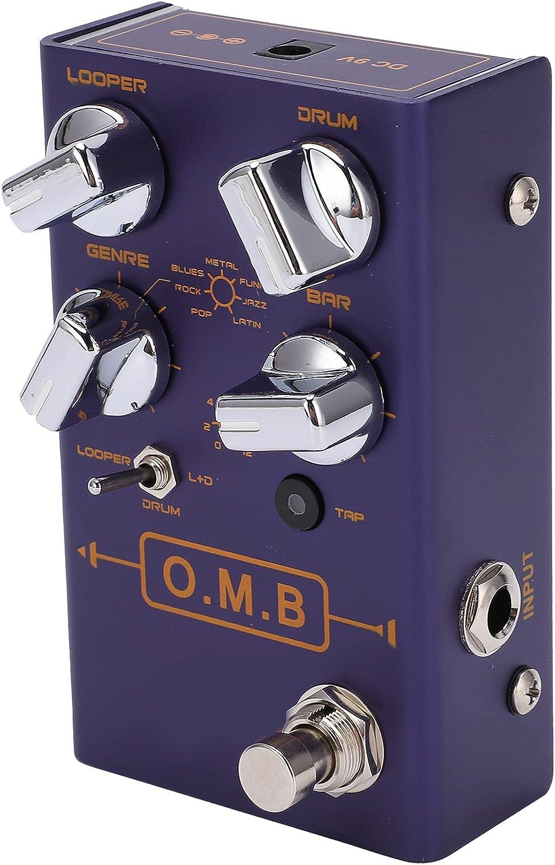 Pedal de efecto de guitarra, Mini Pedal de efecto de pedales de Donner portátil para guitarra y bajo