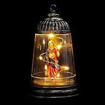 ABOOFAN Kerst Decoratieve Lantaarns Kerst Kaars Lantaarn Jezus Vormige Kerst Lamp Decoratie Voor Tafel Bruiloft Party Bars...