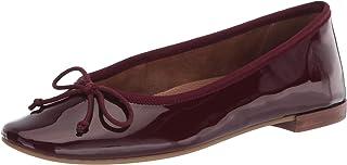 Aerosoles Women's Homerun Ballet Flat, Wine Patent,6.5
