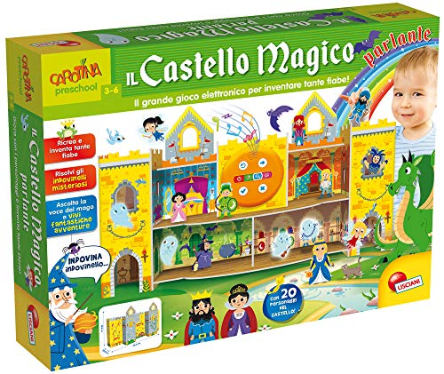Liscianigiochi-Carotina Il Castello Magico Parlante, Multicolore, 68401
