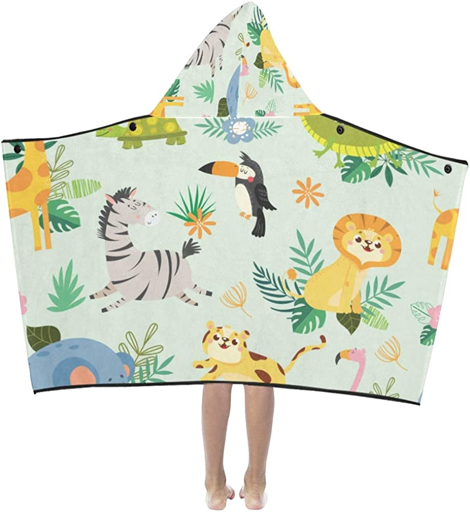 Bath Towels for Toddlers Cute Cartoon Quantity Ranking TOP4 limited Leaf Flower Zoo Fun Animal