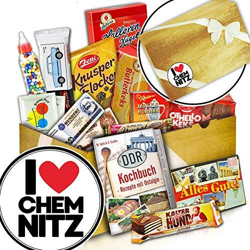 Süßes DDR Paket - Chemnitz Geschenk - DDR Artikel - I love Chemnitz