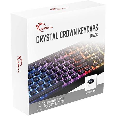 G.SKILL Crystal Crown Keycaps - Juego de teclas con capa ...