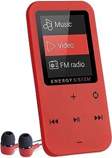 Energy Sistem MP4 Touch (8 GB, Touch Tasten, FM Radio, microSD) – Coral Rot