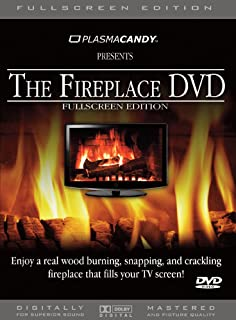 Fireplace DVD: Real Wood Burning Fire (Anamorphic – FullScreen Edition)
