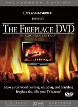 Fireplace DVD: Real Wood Burning Fire