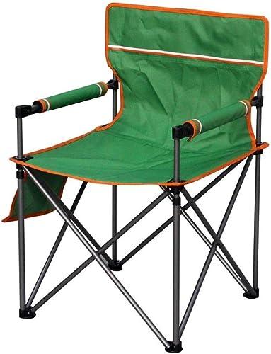 1949shop Petit Tabouret portatif Se Pliant extérieur léger de Chaise de Camp pour Le Festival de pêche de Plage, Vert