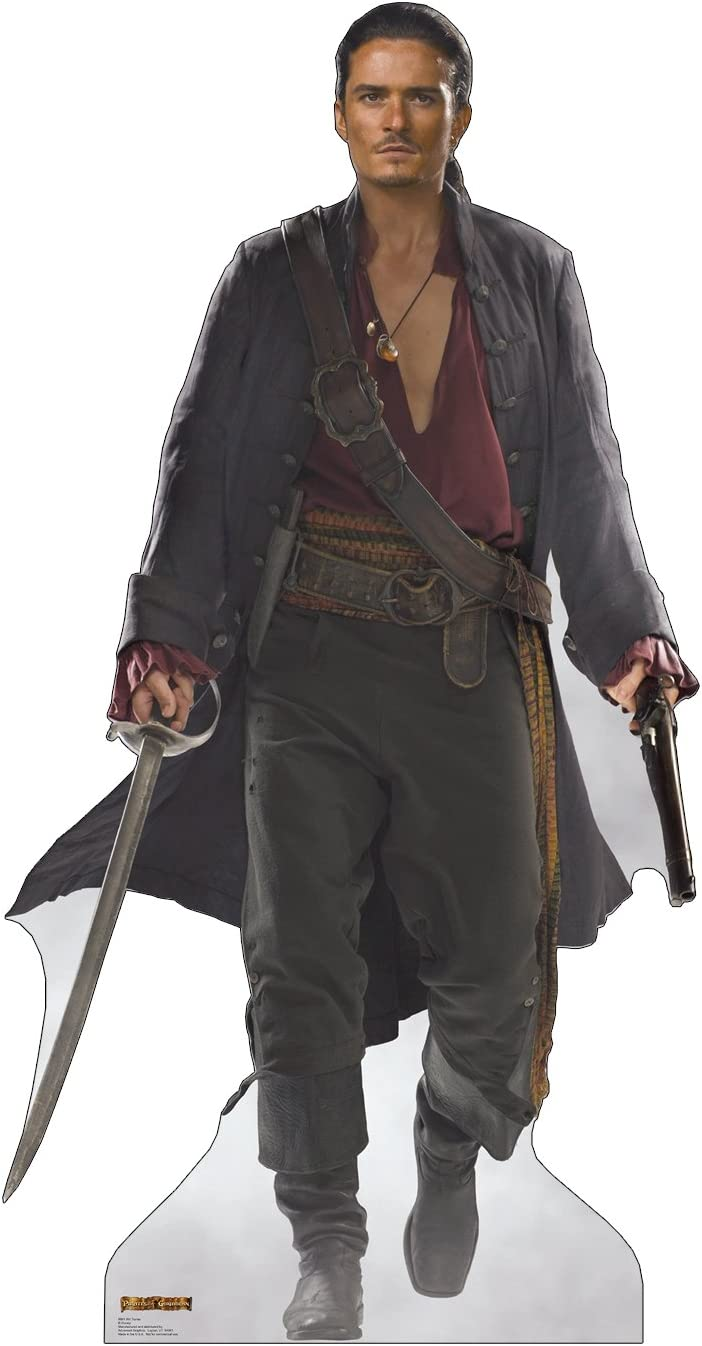 Cardboard People Will Turner Luxury Life Size Standup Cutout New sales