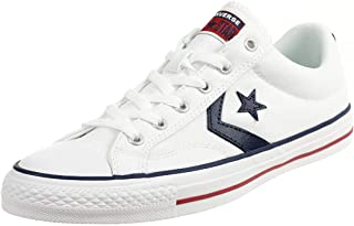 Converse Unisex Star Player Ox White/Navy Low-Top