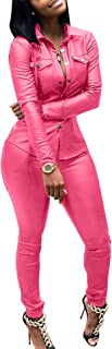 Women's Tracksuit 2 Piece Outfits Button Down Jacket and Bodycon Pants Sweatsuits Sportwear