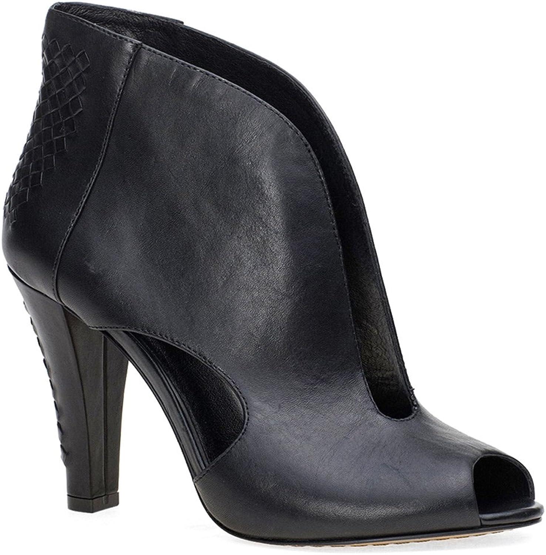 Elliott Lucca Women's Alessandra,Black Leather,US 10 M