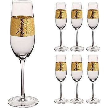 Pasabahce 440236/Fl/ûtes /à champagne Timeless dans le cristal Motif Hauteur env 15,7/cm lot de 2/en Verre