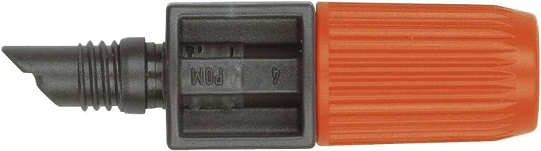 Gardena - 01391-20 - Goutteur Micro-Drip-System Noir/Orange - Lot de 10, 4,6 mm