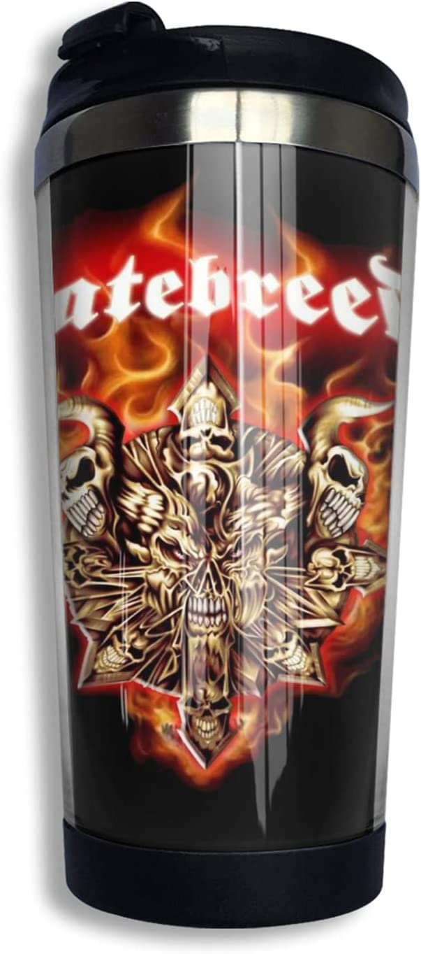 Hatebreed Insulated Tumblers Coffee Mug Super popular specialty store With Travel Super beauty product restock quality top! Lid