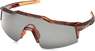 100 Percent - SPEEDCRAFT SL-Matte Dark Smoke Lens Gafas, Hombres, Negro Mate Havana-Cristal Oscuro, Mediano