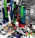 budawi- Headshop Set Junior - Wundertüte, Acrylbong, Chillum, Steckköpfe, Grinder, Pur-Pfeife,...