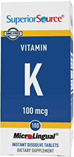 Superior Source Vitamin K 100 mcg. (100 Tablets)
