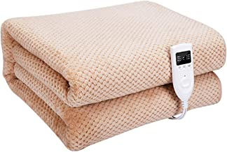 Electric Blankets, Double Temperature and Double Control Super Soft Blanket, Heat Settings, Machine Washable, Suitable for...