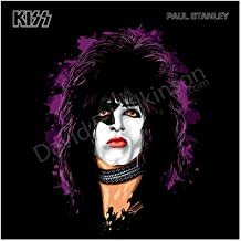 Paul Stanley of KISS [Vintage Version] Art Giclee' by David E. Wilkinson