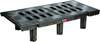 Rubbermaid Commercial 4491 Dunnage Rack, 2000-Pound Capacity, Black
