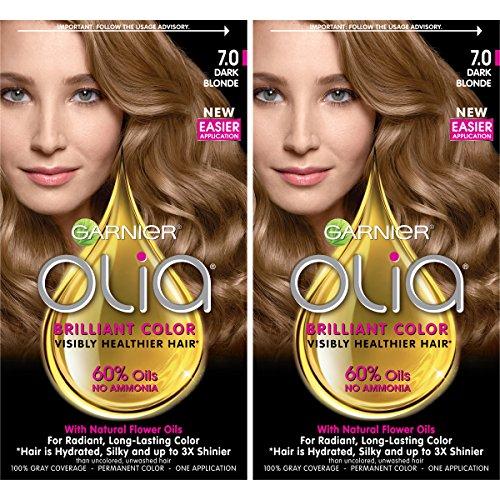 Garnier Hair Color Olia Oil Powered Permanent, 7.0...