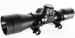 TRINITY 4X32 Scope for Savage B22 Magnum FV-SR Picatinny Weaver Mount Adapter Aluminum Black rangefinder Reticle Hunting O...