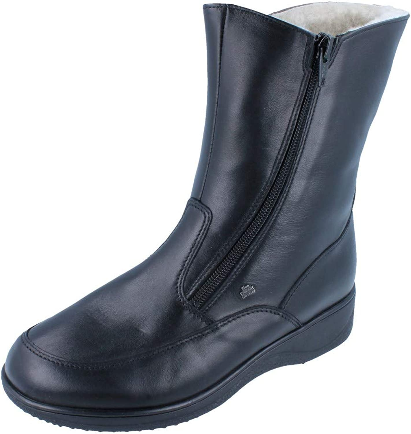 FinnComfort Womens Minsk Fixed price for sale 2175 - Superior Black Nappa