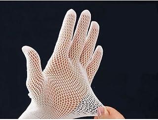 さらっと快適 メッシュインナー手袋 10枚入 ゴム手袋 下ばき 編み手袋 指先カット可 炊事 ガーデニング 水仕事