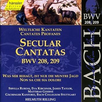 Bach, J.S.: Secular Cantatas, Bwv 208 and Bwv 209