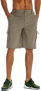Nonwe Men's Outdoor Water-Resistant Quick Dry Cargo Shorts