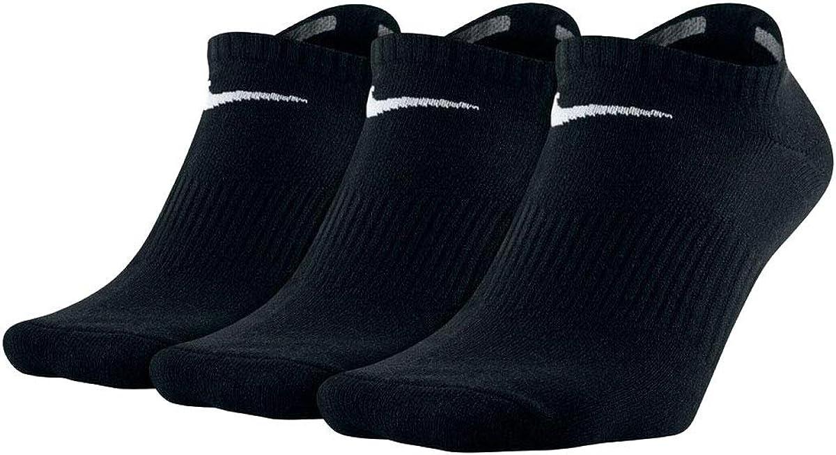 Nike Boy`s Cushioned Training Ankle Socks 3 Pack
