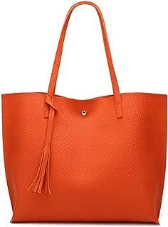 Best orange tote handbag Reviews